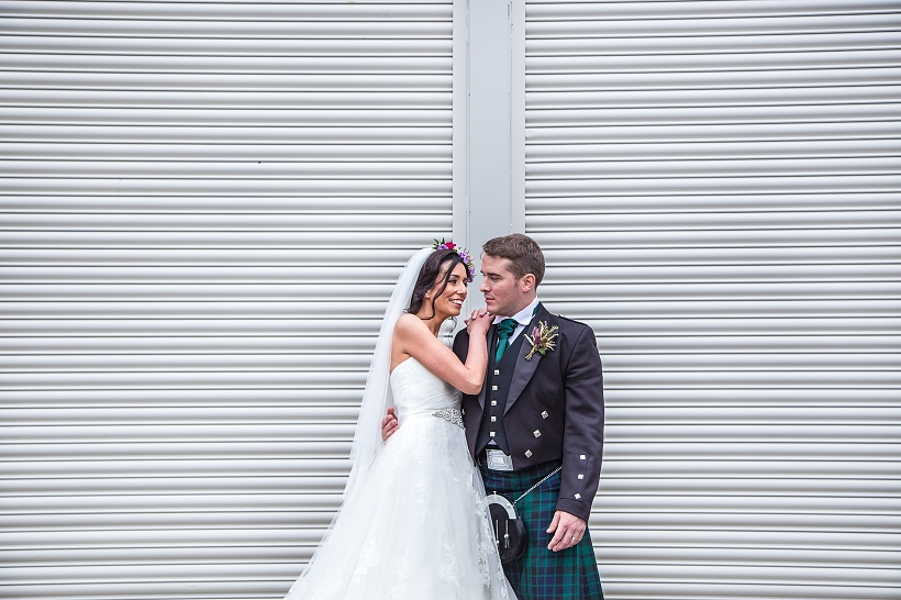ARTY GLASGOW SCOTLAND WEDDING - Joie Takaki Photography - House For An Art Lover Country house, arts centre and cafe, built based on unrealised designs by Charles Rennie Mackintosh