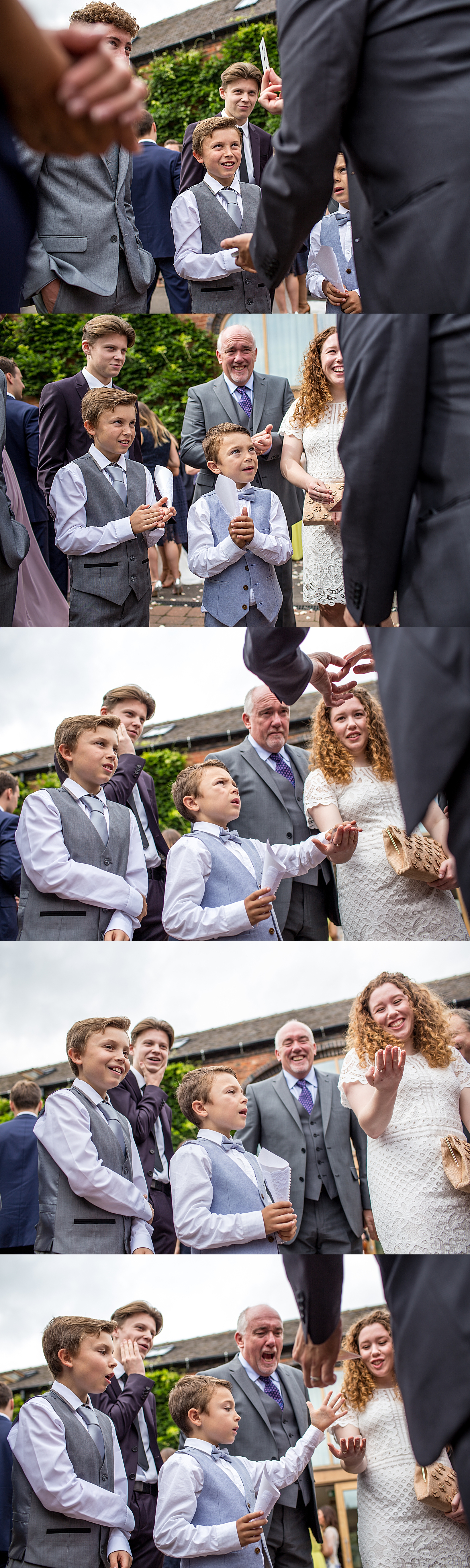 Witness The Magic at Weddings Nick Rushton The Magician UK by Joie Takaki Photography